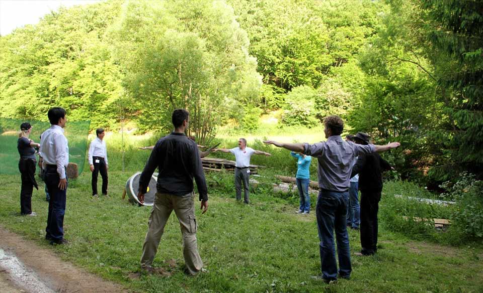 Einzelcoaching mittels Bogenschießen