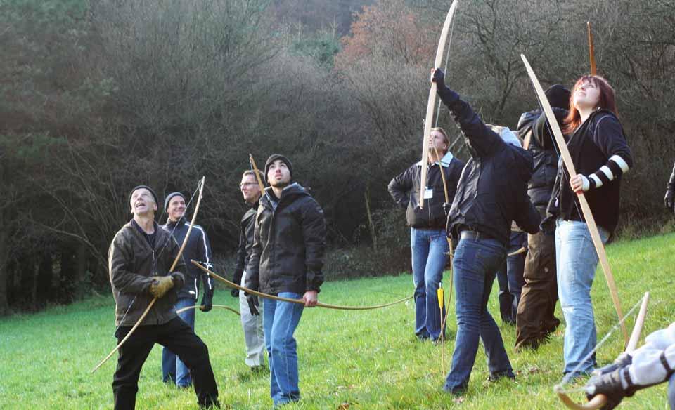 Bogenschießen in der Eifel Bogenschießen als Freizeitvergnügen
