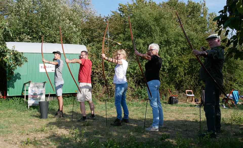Bogenschieß-Wochenende in Kerpen Türnich