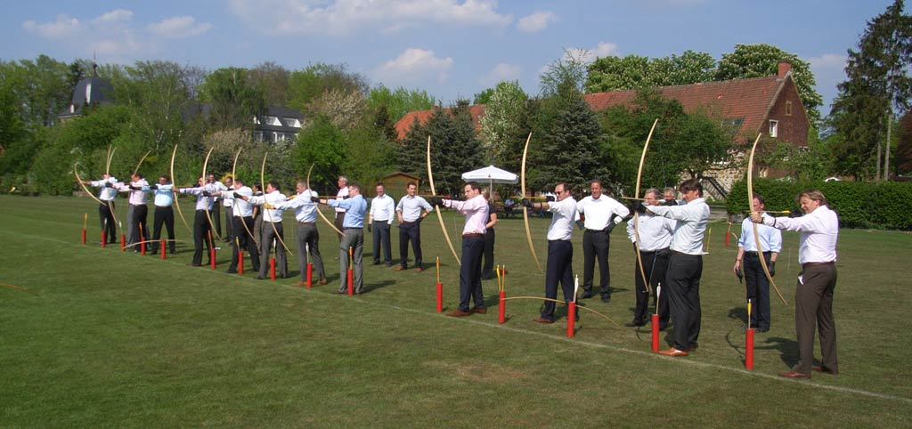 Bogenschießen als Team-Event