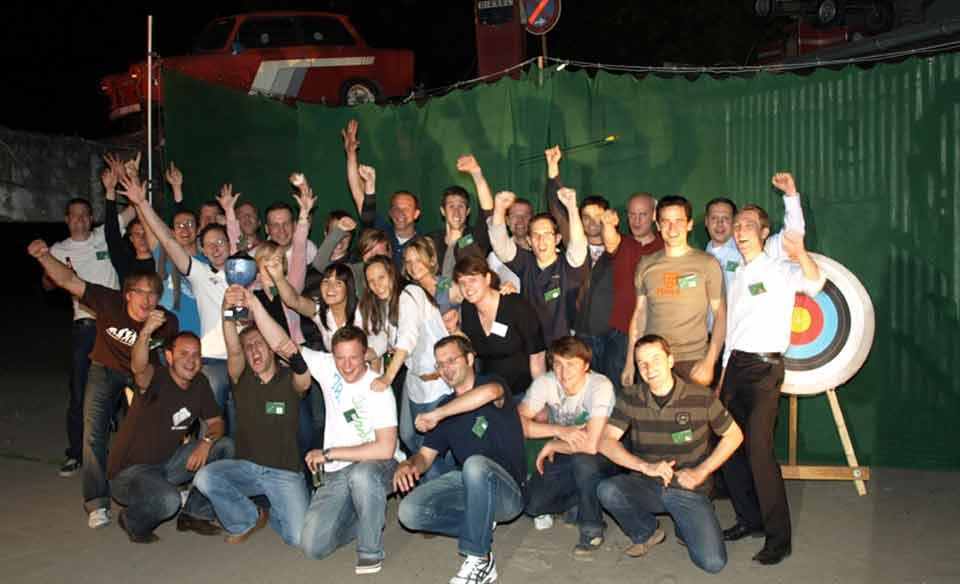 Bogenschießen als Event, Köln